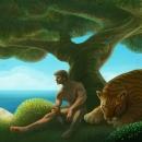 Ocean Tree-Huge Cat