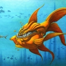 Mutant Goldfish