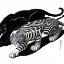 Tam & Shade - black and white version