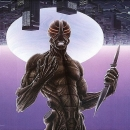 "Surrax:  1987-1989 Acrylic 33""x21"""