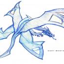 4-Wing Dragon - Sketch