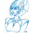 Headdress Woman