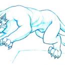Leaping Big Cat