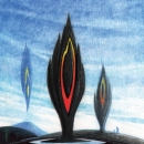 Black Flame Monoliths