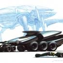 Alien-Human Tankers & Motorcycle