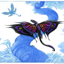 Butterfly Dragon - Color