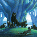 Vosha with Forest Wolves