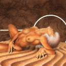 Reclined Woman in Void