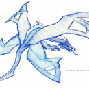 4-Wing Dragon - Sketch